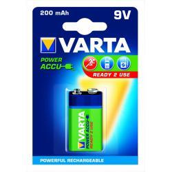 Akumulator POWER ACCU 56722 1 200mAh,9V,R2U 6F22/9V