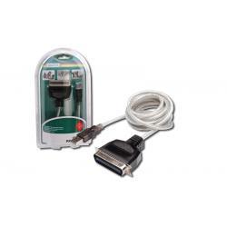 Kabel drukarkowy USB/Centronics CENT36 M, 1,8m