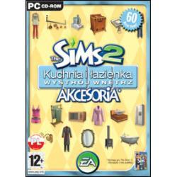 The Sims 2 Akcesoria Kuchnia i lazienka