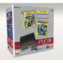 PS3 320 Uncharted 1+ Uncharted 2 9138686