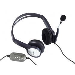Słuchawki AP-5.1 USB + Mikrofon