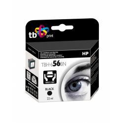 Tusz TB Print TBH-656BN (HP Nr 56 - C6656A) Black 100% nowy