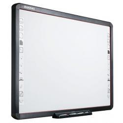 """Tablica interaktywna QWB200-PS 88""""/4:3/przekątna robocza 79""""/technologia IR/magnetyczna/suchościeral"""