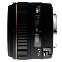 Obiektyw stałoogniskowy Sigma 30mm F1.4 EX DC Sony/Minolta