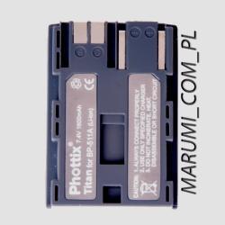 AKUMULATOR PHOTTIX BP-511A Canon 20D 30D 40D 50D