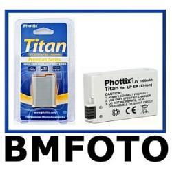 AKUMULATOR PHOTTIX LP-E8 CANON 550D 600D