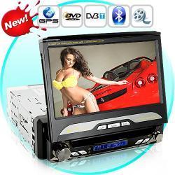 Viper King - Samochodowy odtwarzacz DVD(GPS 1DIN HD DVBT obrotowy ekran)