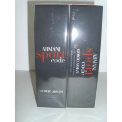 ARMANI SPORT CODE 125 ml EDT PERFUMERIAONLINE