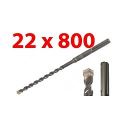 WIERTŁO SDS MAX 22x800