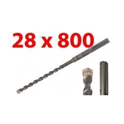 WIERTŁO SDS MAX 28x800