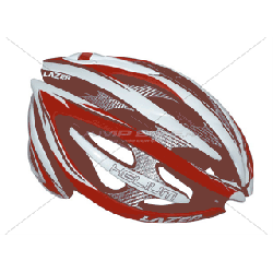 Kask szosa LAZER HELIUM RD BIG team red white 60-64cm rolsys