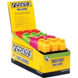Łyżki do opon plastikowe 24 x 2szt - 4 kolory PEDRO'S