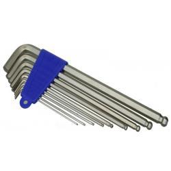 Klucze X-Tools XT623 imbusy CrMo 9szt