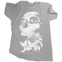 Koszulka Lotek Skull grey M