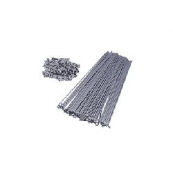 Szprychy CNSPOKE DB454 srebrne stal nierdzewna 2.0-1.8-2.0 254mm