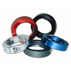 Klamry aluminiowe ODI LOCK JAWS aluminiowe szare
