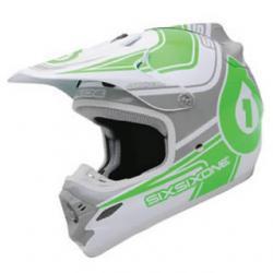 Kask 661 FLIGHT 2 biało zielony M