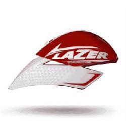 Kask czasowy LAZER TARDIZ BIG solid red glossy white mat 58-61cm rolsys