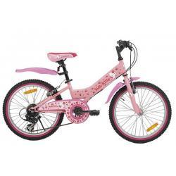 """Rowerek dziecięcy HELLO KITTY CHERRY PINK 20"""" różowy"""