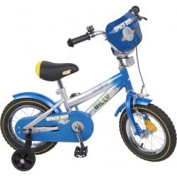 """Rower Accent BILLY 12"""" niebiesko-biały"""