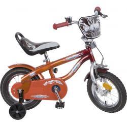 """Rower Accent DANNY 12"""" bordowo-czerwony"""