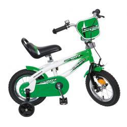 """Rower Accent DANNY 12"""" zielono-biały"""