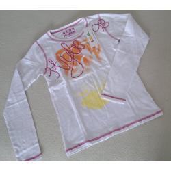 Bluza w neonowy wzór