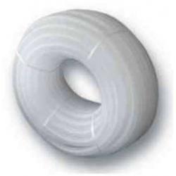 Rura karbowana biała 21x26