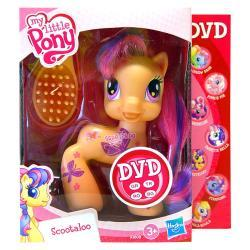 SCOOTALOO MY LITTLE PONY HASBRO 93808 + DVD