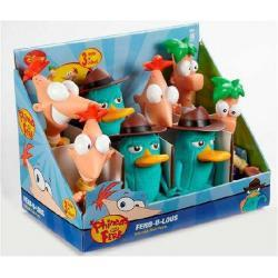 DISNEY FERB 20cm Disney Channel XD + oryginalny Notes Ferb