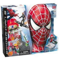 Mega Bloks Spiderman vs Goblin Secret Lab Assault nr kat. 2002