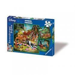 Puzzle 3 x 49 Ravensburger 09365 Bambi, Baloo i Simba Trzy Obrazki