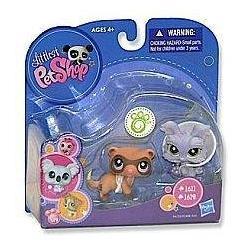 Littlest Pet Shop Fretka i Jork #1611 1612 GRATIS Hasbro LPS
