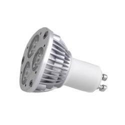 Żarówka GU10 3 LED 1W POWER LED, 230V, biała ciepła