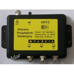 AKTYWNY ROZGAŁĘŹNIK TV DVB-T ART/3 1-WEJŚCIE, 3-WYJŚCIA TV i Video