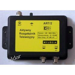 AKTYWNY ROZGAŁĘŹNIK TV DVB-T ART/2 1-WEJŚCIE, 2-WYJŚCIA TV i Video