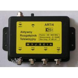 AKTYWNY ROZGAŁĘŹNIK TV DVB-T ART/4 1-WEJŚCIE, 4-WYJŚCIA TV i Video