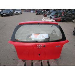 Tylna Tył Klapa Toyota Yaris 3D 1995-2005
