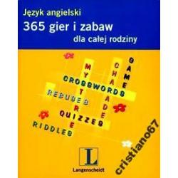 365 gier i zabaw dla całej rodziny Język angielski