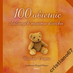 100 OBIETNIC ZŁOŻONYCH MOJEMU DZIECKU NOWA TWARDA