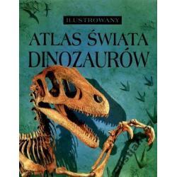Ilustrowany atlas świata dinozaurów NOWA TWARDA