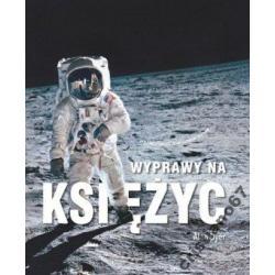 Wyprawy na Księżyc (książka +DVD) Alan Dyer NOWA