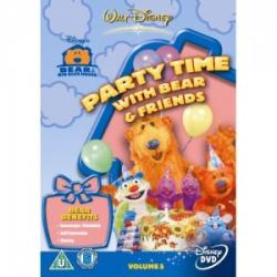 Bear In The Big Blue House - Party Time With Bear [DVD]
