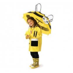 Kidorable zestaw deszczowy Pszczoła (Parasolka, Pelerynka, Kalosze)