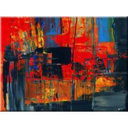 """obrazy nowoczesne """"czerwona abstrakcja""""  HIT Pozostałe"""