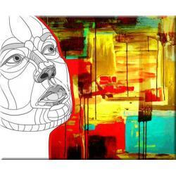 "obrazy nowoczesne ""face 2""  HIT Obrazki i obrazy"