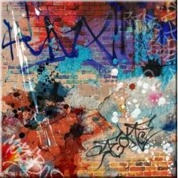 "obrazy nowoczesne ""graffiti""  HIT Akryl"