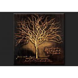 """obrazy nowoczesne """"drzewko szczęścia""""  80x80cm Akryl"""
