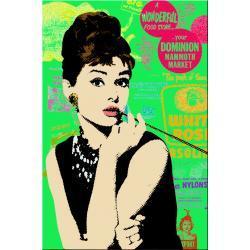 """obrazy nowoczesne """"green pop art"""" Obrazki i obrazy"""