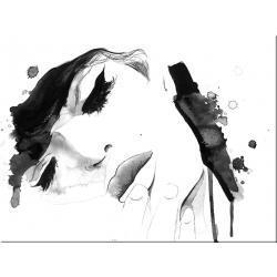 obrazy nowoczesne czarno białe  Akryl